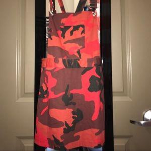 1e3b967ca65 Fashion Nova Dresses - Fightin  Babe Overall Dress - Red  Camo
